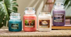 Utečte do ráje s jarními novinkami vonných svíček Yankee Candle