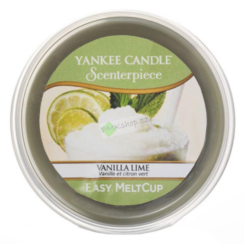 Yankee Candle vonný vosk Easy MeltCup Vanilla Lime
