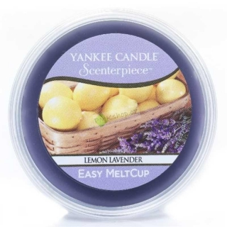 Yankee Candle vonný vosk Easy MeltCup Citron a levandule 61 g