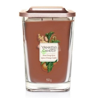 Yankee Candle svíčka Elevation velká 552 g Sweet Orange Spice