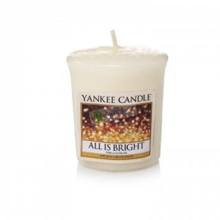 Yankee Candle votivní svíčka All Is Bright