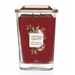 Yankee Candle svíčka Elevation velká 552 g Holiday Pomegranate