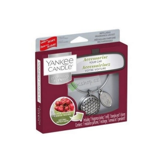Yankee Candle vůně do auta Charming Scents základní set Geometric Black Cherry