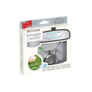 Yankee Candle vůně do auta Charming Scents základní set Linear Clean Cotton