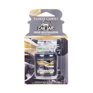 Yankee Candle vůně do auta gelová visačka New Car Scent