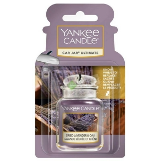 Yankee Candle vůně do auta gelová visačka Dried Lavender & Oak