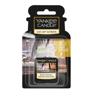Yankee Candle vůně do auta gelová visačka Black Coconut
