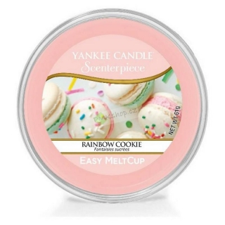 Yankee Candle vonný vosk Easy MeltCup Rainbow Cookie