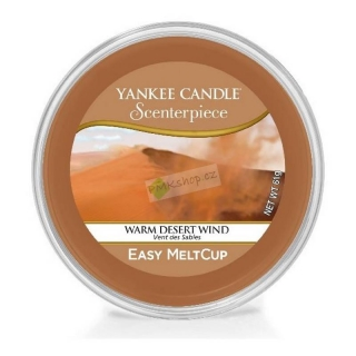 Yankee Candle vonný vosk Easy MeltCup Warm Desert Wind