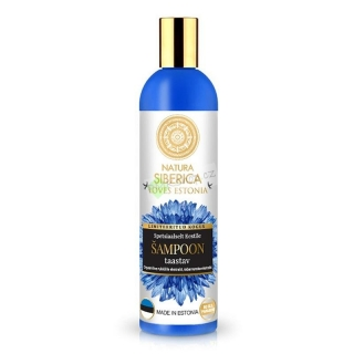 Natura Siberica LOVES ESTONIA Šampon regenerační 400 ml